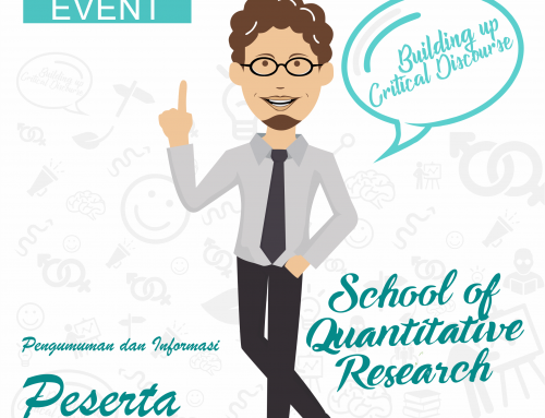 Pengumuman dan Informasi Peserta Short Course of Quantitative Research (SQR)