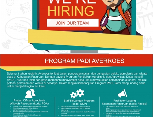 Lowongan Pekerjaan Staff Keuangan Program